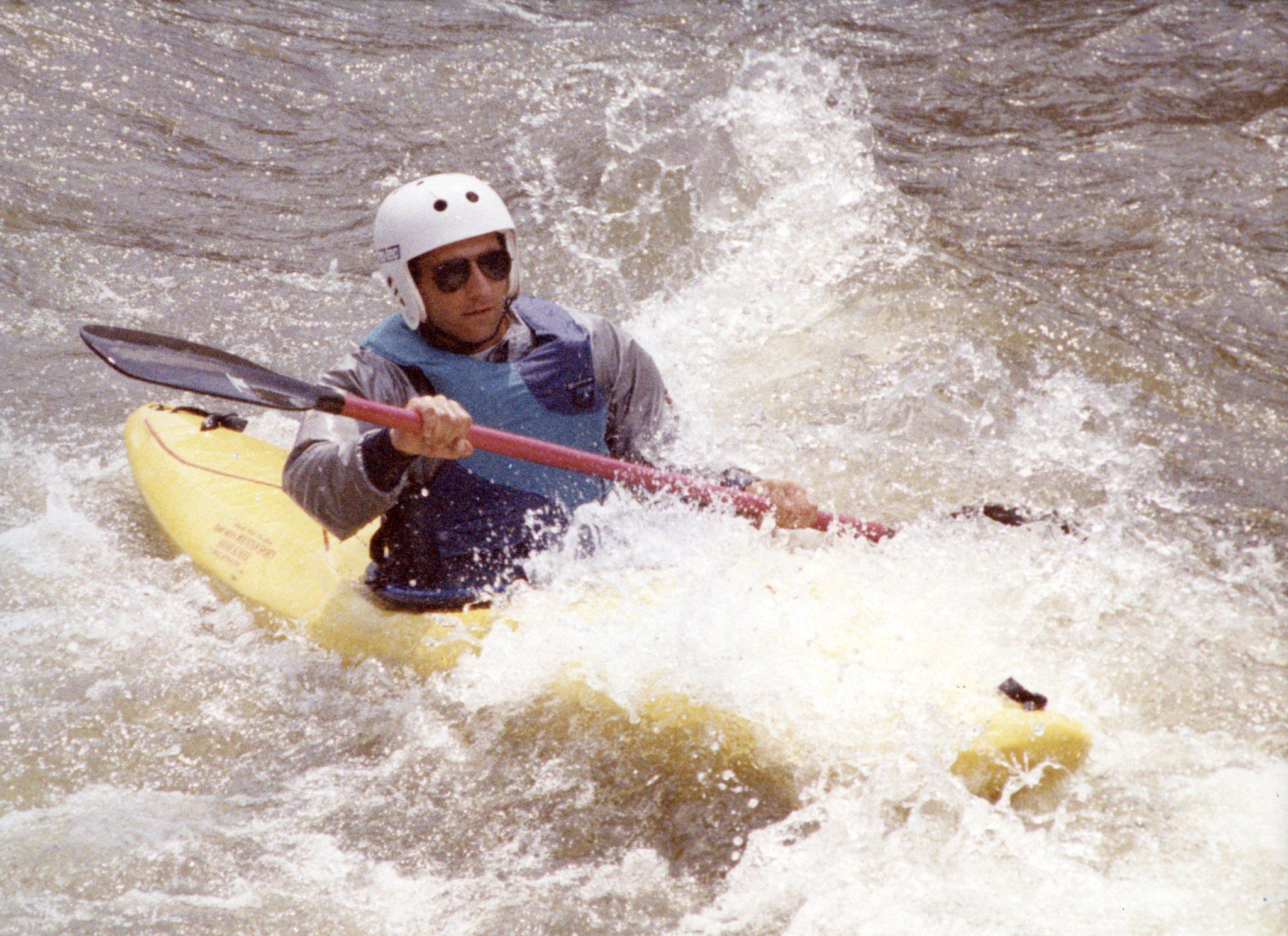 Chris Sendi on the Colorado River