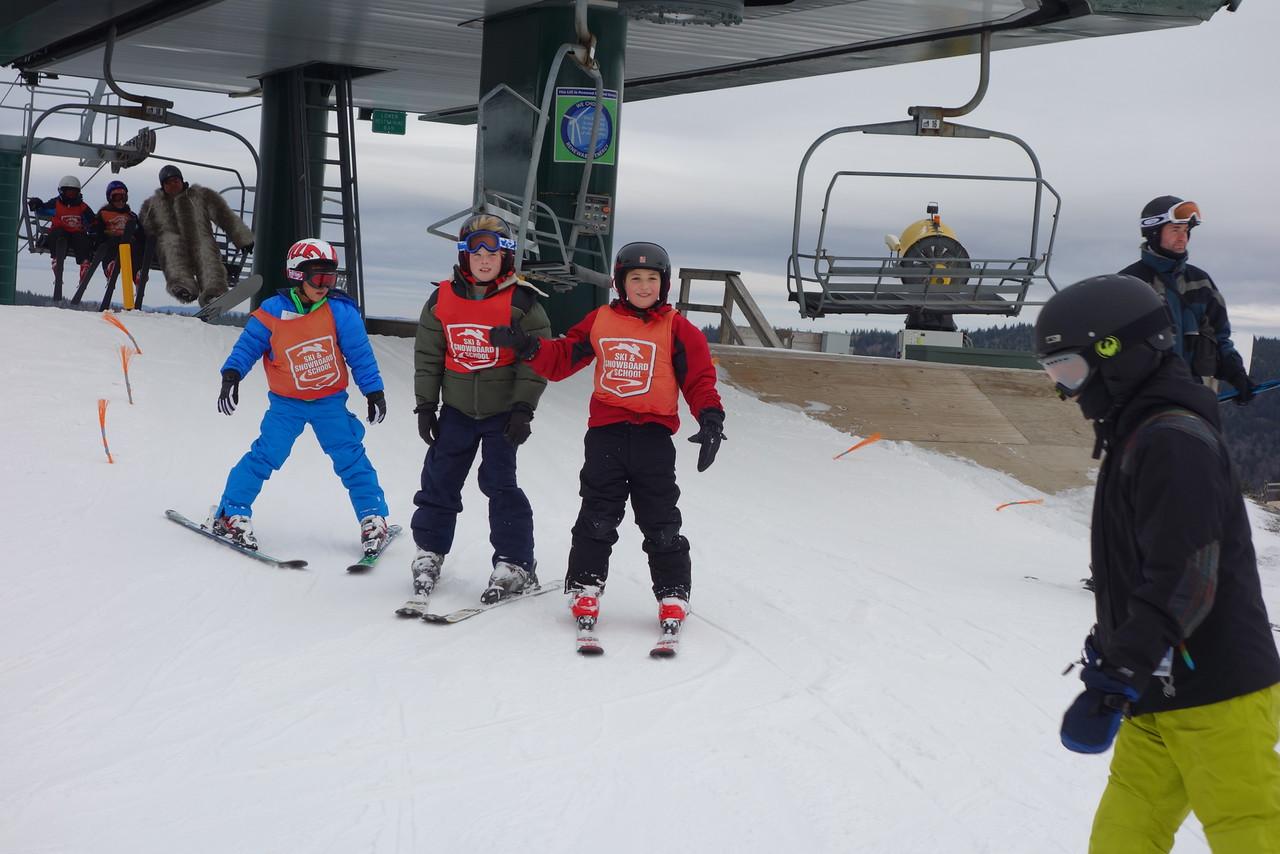 Christian at Ski Liberty